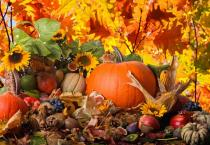 Set de table automne