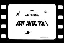 Set de table citation film star wars