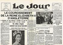 Set de table vieux journaux elisabeth 2