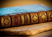 Set de table vieux livres 2