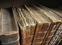 Set de table vieux livres