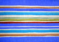 Striped fabric texture blue brown